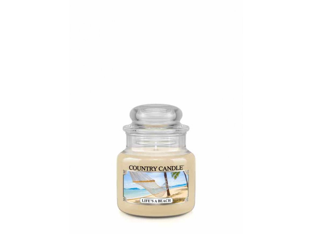 COUNTRY CANDLE Life's A Beach vonná sviečka mini 1-knôtová (104 g)