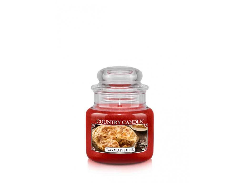 COUNTRY CANDLE Warm Apple Pie vonná sviečka mini 1-knôtová (104 g)