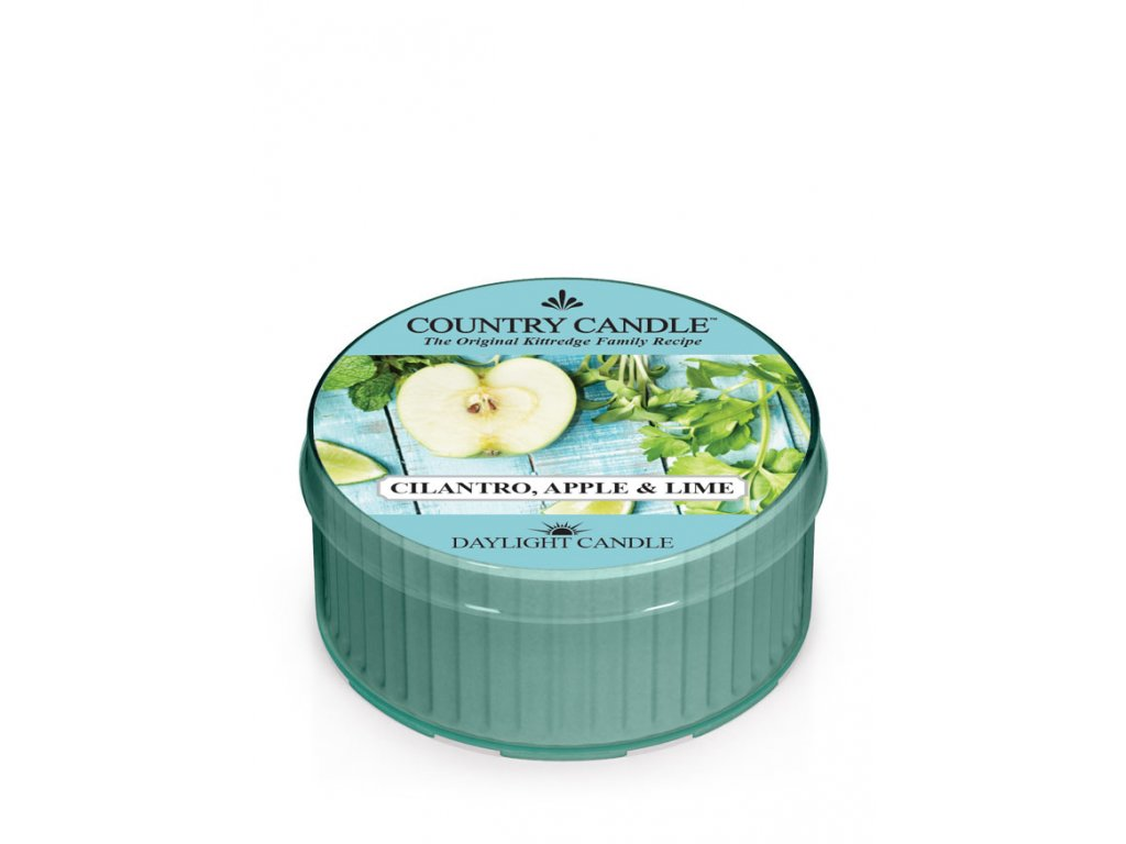 COUNTRY CANDLE Cilantro, Apple & Lime vonná sviečka (35 g)