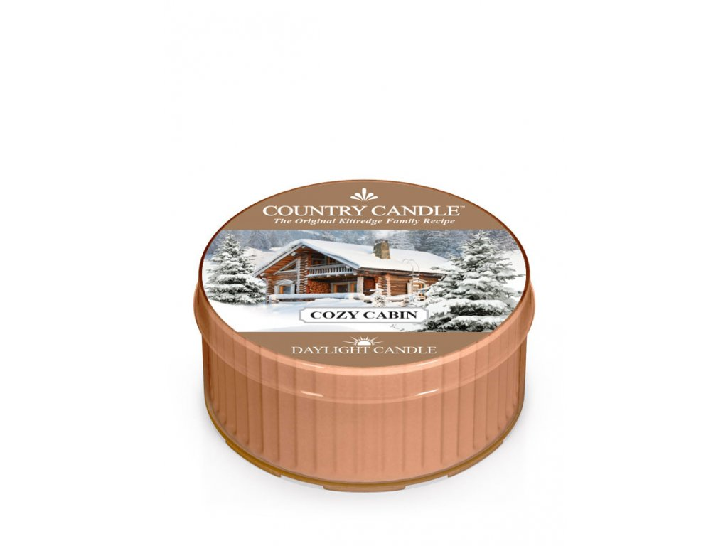 COUNTRY CANDLE Cozy Cabin vonná sviečka (35 g)