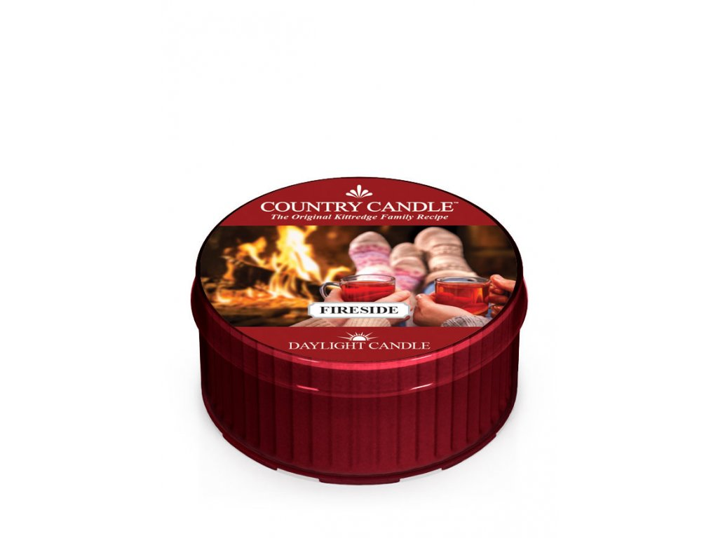COUNTRY CANDLE Fireside vonná sviečka (35 g)