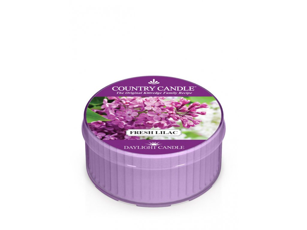 COUNTRY CANDLE Fresh Lilac vonná sviečka (35 g)
