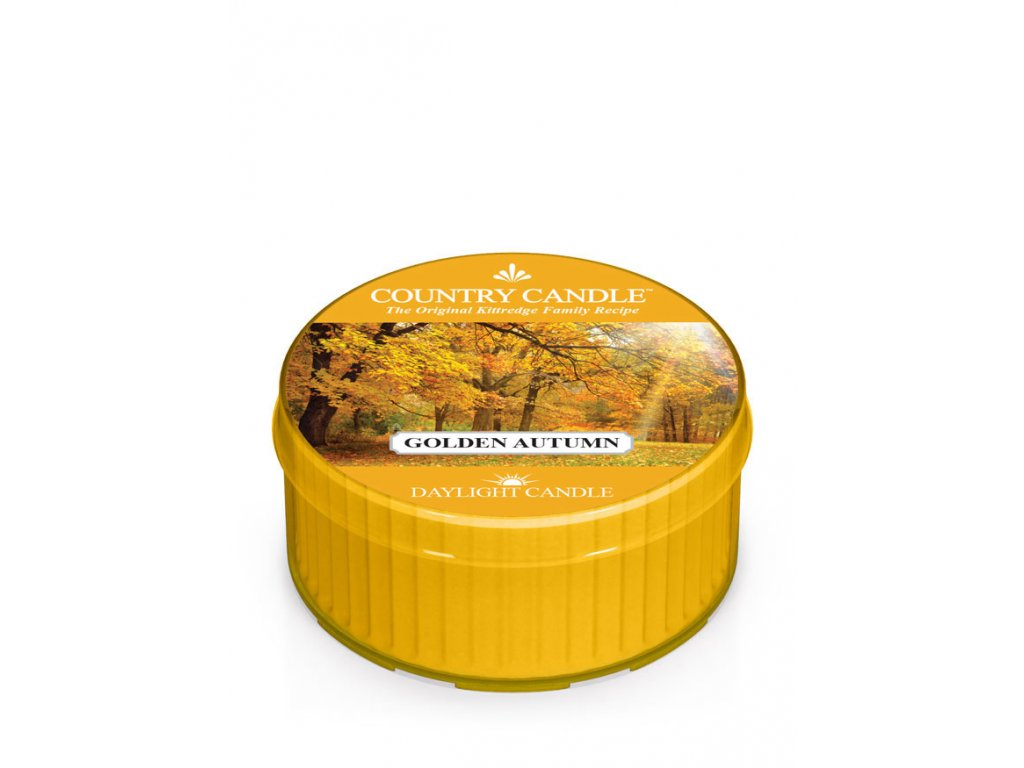 COUNTRY CANDLE Golden Autumn vonná sviečka (35 g)