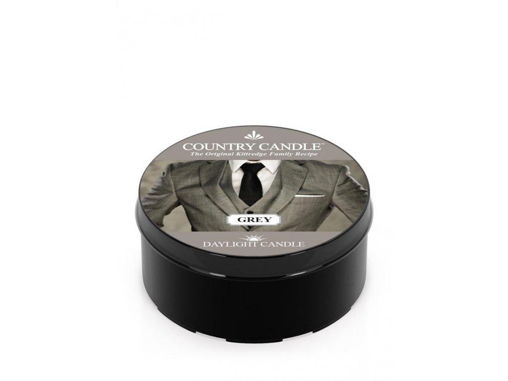 COUNTRY CANDLE Grey vonná sviečka (35 g)
