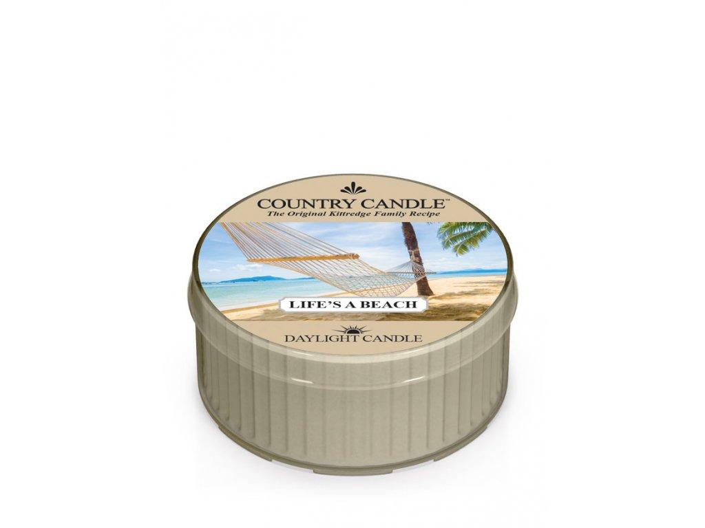 COUNTRY CANDLE Life's A Beach vonná sviečka (35 g)