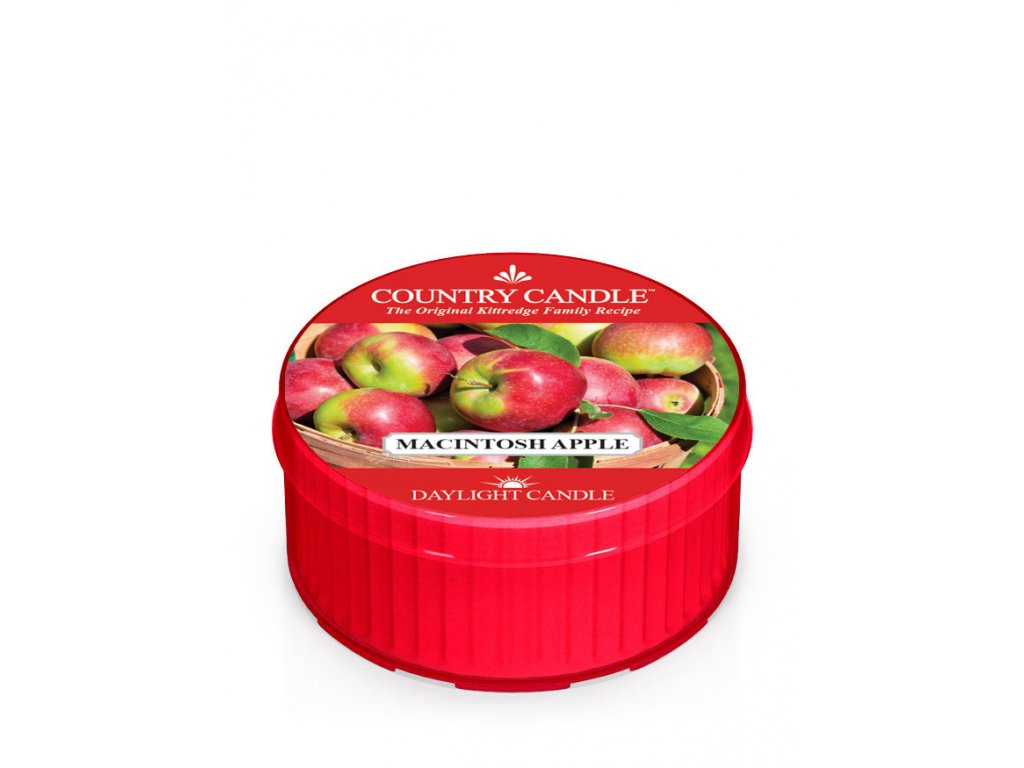 COUNTRY CANDLE Macintosh Apple vonná sviečka (35 g)