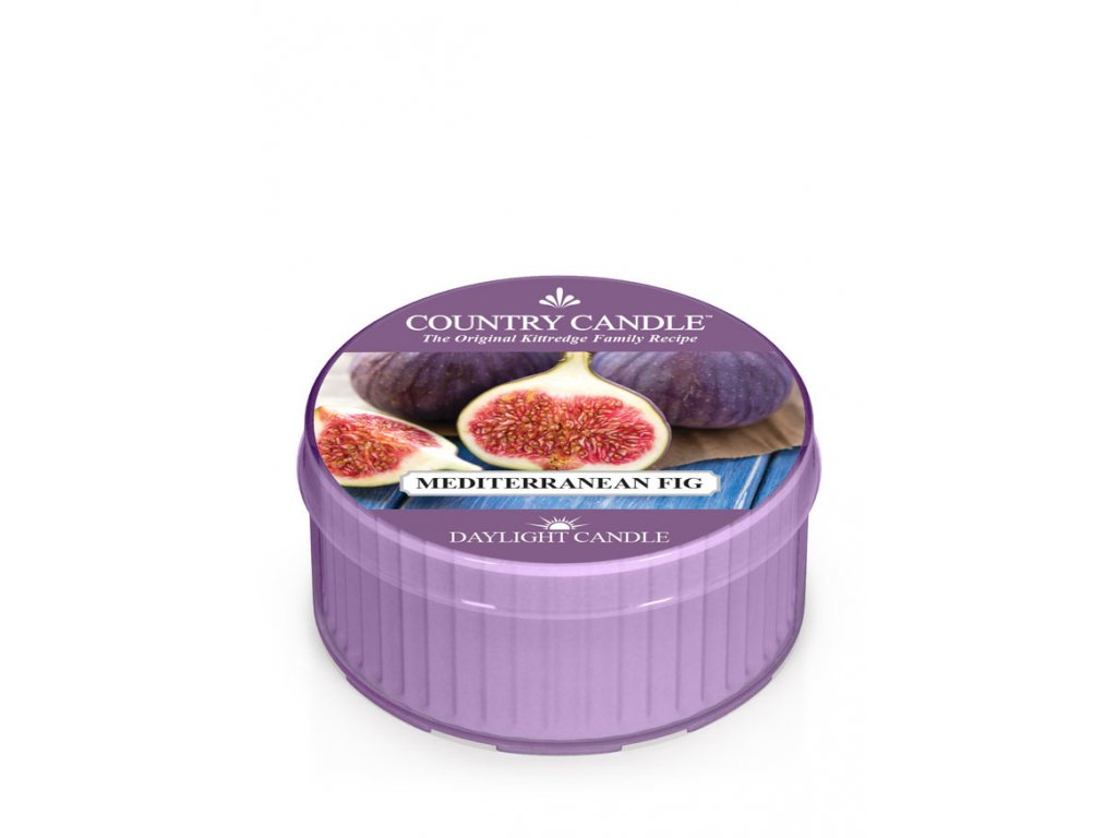 COUNTRY CANDLE Mediterranean Fig vonná sviečka (35 g)