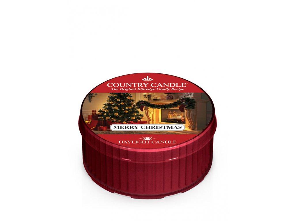 COUNTRY CANDLE Merry Christmas vonná sviečka (35 g)