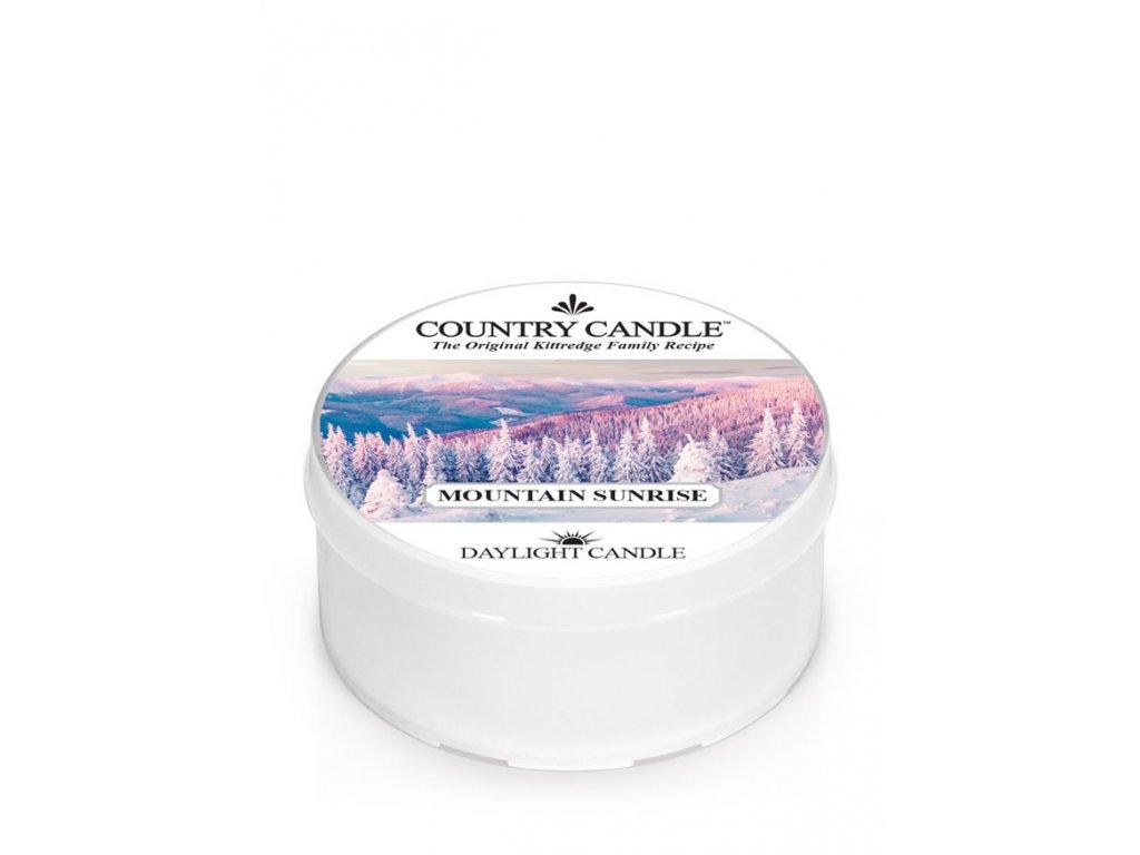 COUNTRY CANDLE Mountain Sunrise vonná sviečka (35 g)
