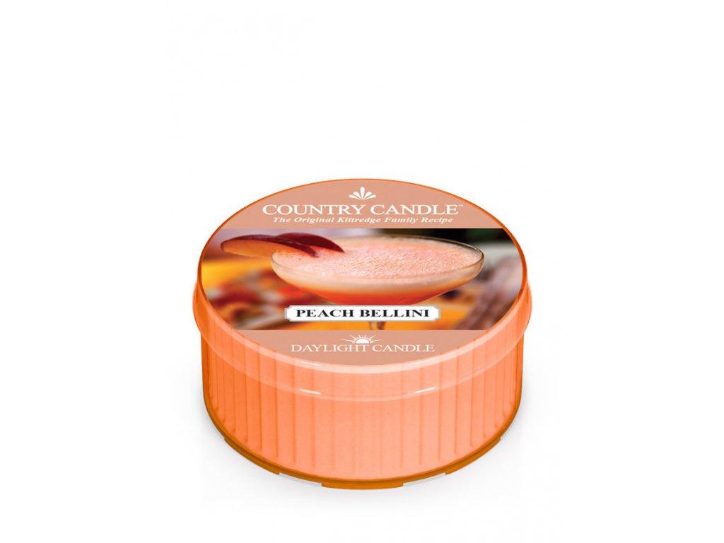 COUNTRY CANDLE Peach Bellini vonná sviečka (35 g)