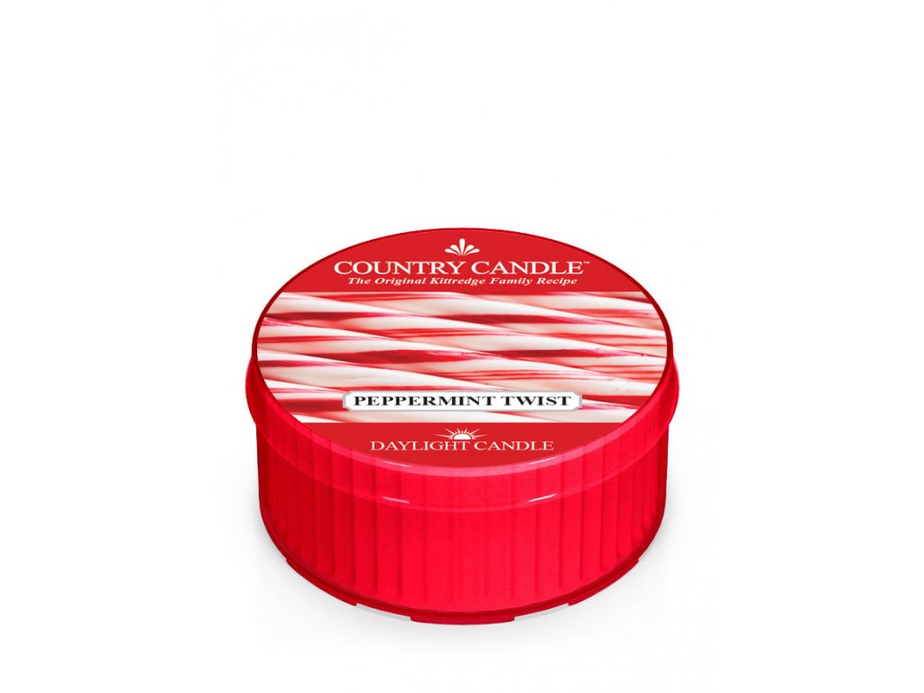 COUNTRY CANDLE Peppermint Twist vonná sviečka (35 g)