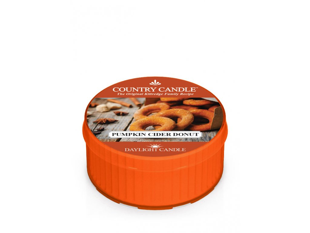 COUNTRY CANDLE Pumpkin Cider Donut vonná sviečka (35 g)
