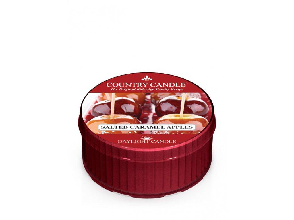 COUNTRY CANDLE Salted Caramel Apples vonná sviečka (35 g)