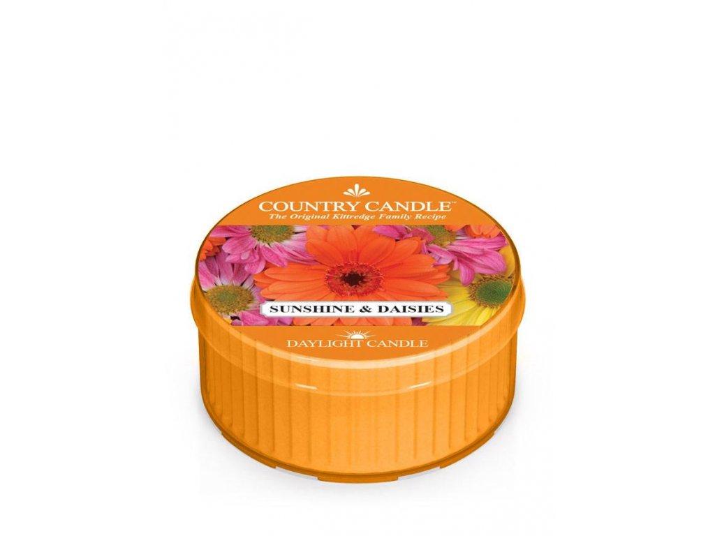 COUNTRY CANDLE Sunshine & Daisies vonná sviečka (35 g)