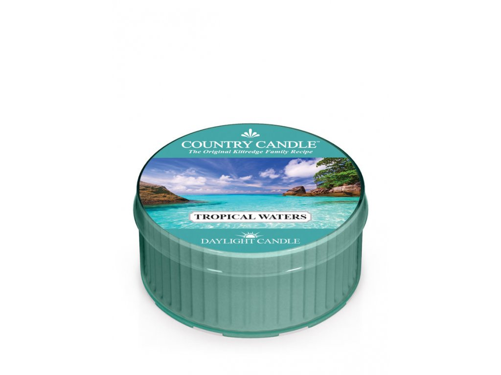 COUNTRY CANDLE Tropical Waters vonná sviečka (35 g)