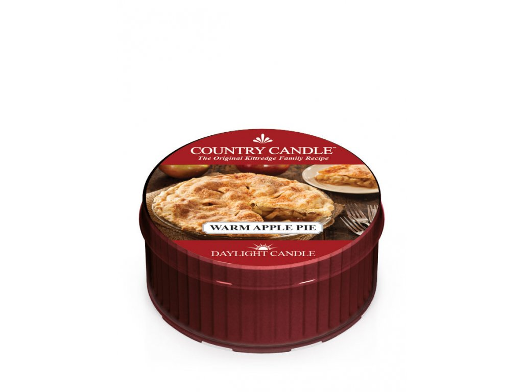 COUNTRY CANDLE Warm Apple Pie vonná sviečka (35 g)