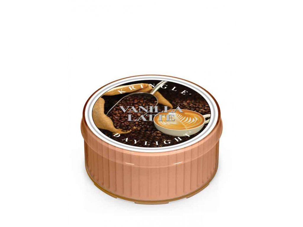 Kringle Candle Vanilla Latte vonná sviečka (35 g)