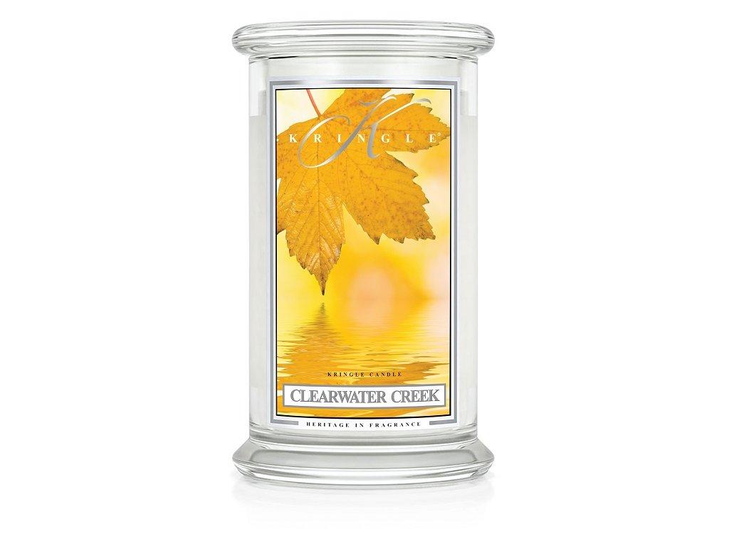 Kringle Candle Clearwater Creek vonná sviečka veľká 2-knôtová (624 g)