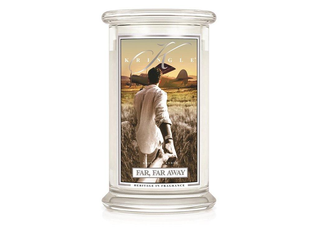 Kringle Candle Far, Far Away vonná sviečka veľká 2-knôtová (624 g)