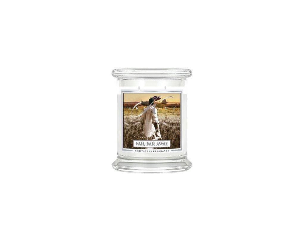 Kringle Candle Far, Far Away vonná sviečka stredná 2-knôtová (411 g)