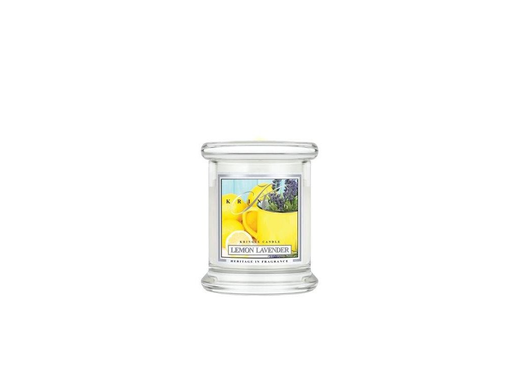 Kringle Candle Lemon Lavender vonná sviečka mini 1-knôtová (127 g)