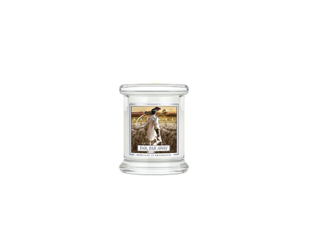 Kringle Candle Far, Far Away vonná sviečka mini 1-knôtová (127 g)
