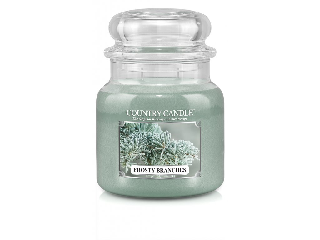Country Candle medium jar frosty branches