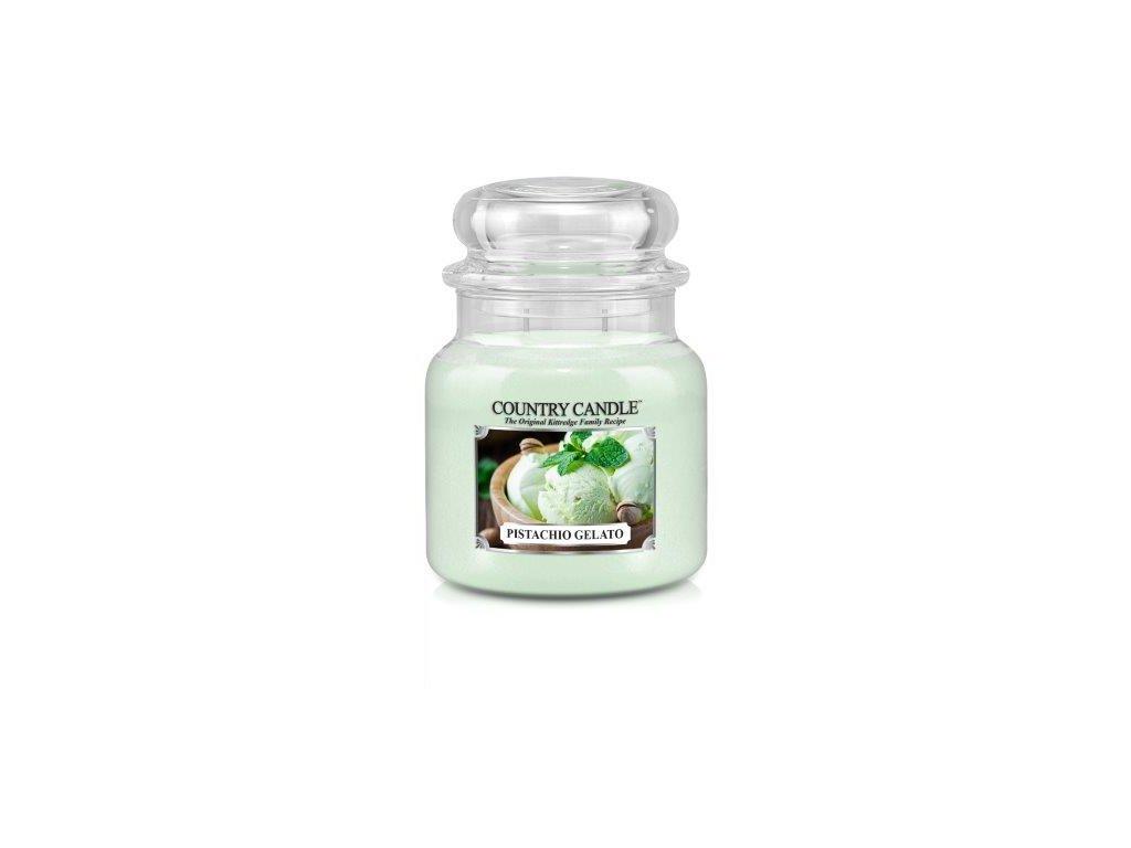 Country Candle medium jar pistachio gelato