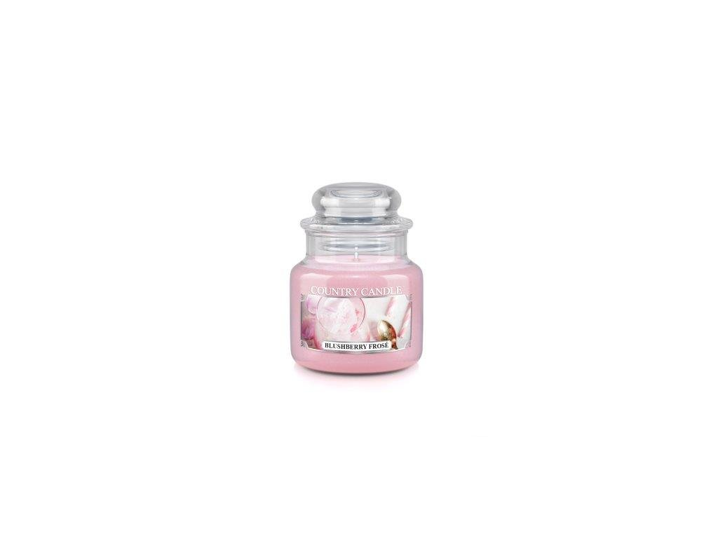 Country Candle small jar blushberry frose