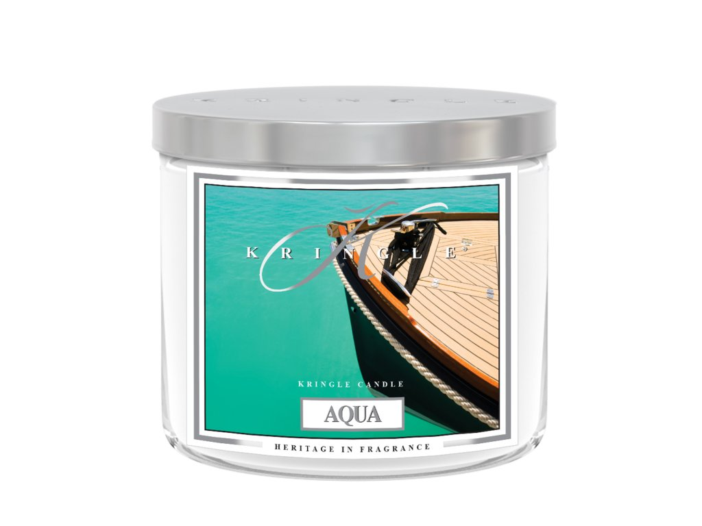 Kringle Candle Tumbler aqua