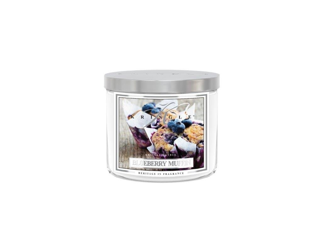 Kringle Candle Tumbler blueberry muffin