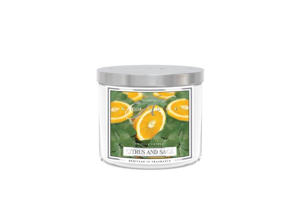 Kringle Candle Tumbler citrus sage