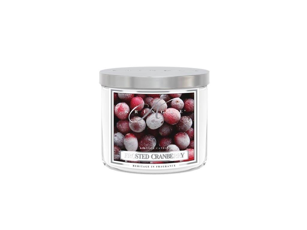 Kringle Candle Tumbler frosted cranberry