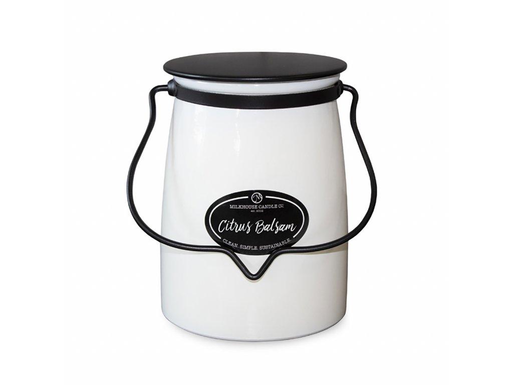 MILKHOUSE CANDLE Citrus Balsam vonná sviečka BUTTER JAR (624 g)