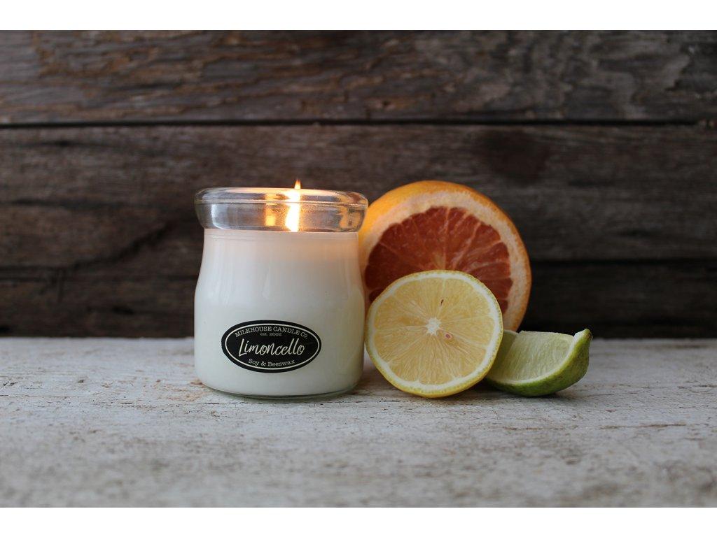MILKHOUSE CANDLE Limoncello vonná sviečka CREAM JAR (142 g)