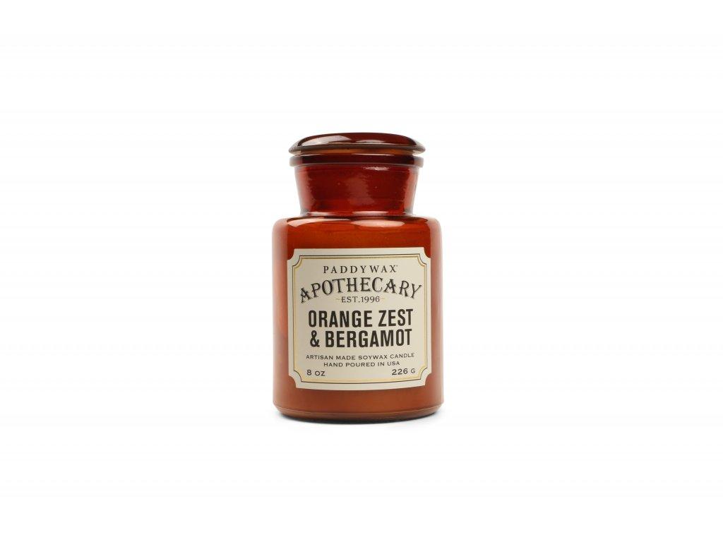 Paddywax Apothecary Orange Zest Bergamot 8oz