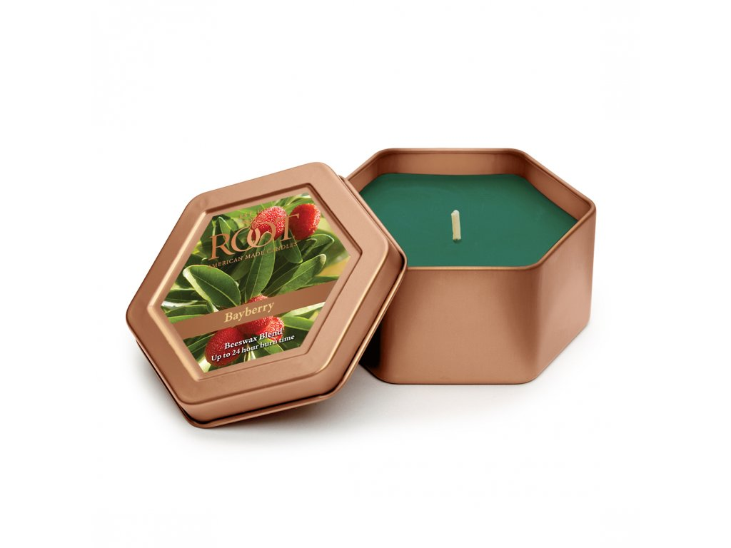 ROOT CANDLES Travel Tin Bayberry