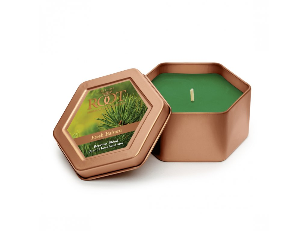 ROOT CANDLES Travel Tin Fresh Balsam