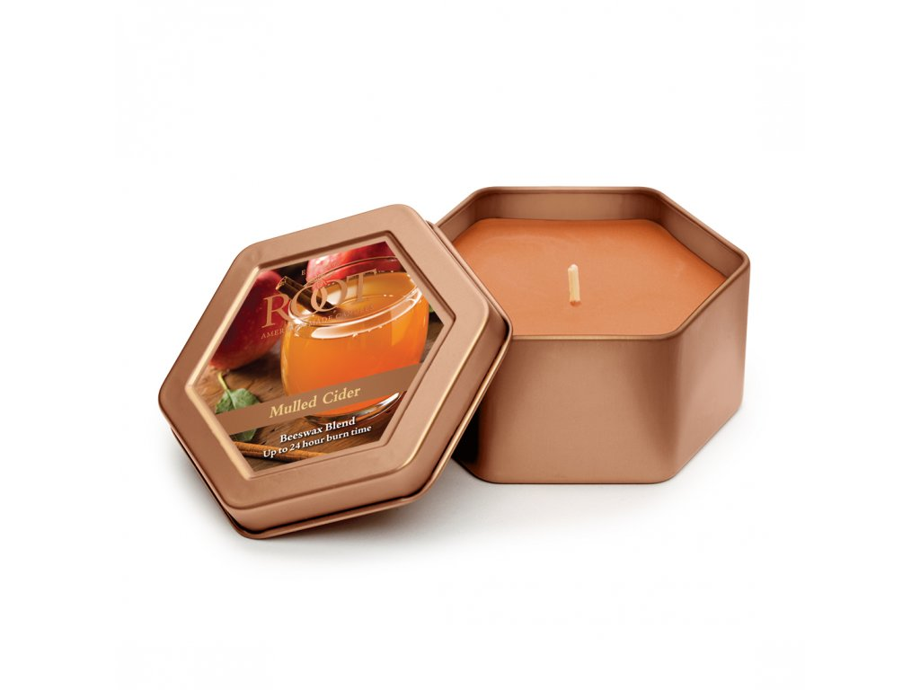 ROOT CANDLES Travel Tin Mulled Cider