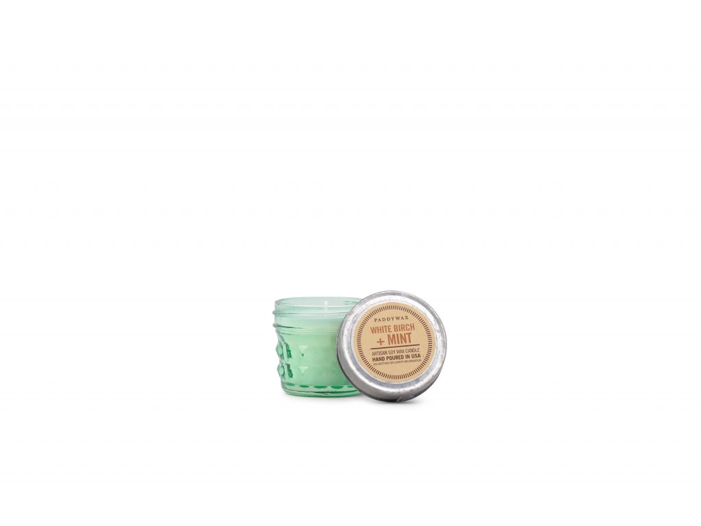 Paddywax Relish White Birch Mint mala