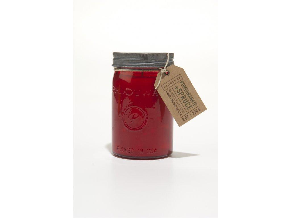 Paddywax RELISH POMEGRANATE & SPRUCE vonná sviečka (269 g)