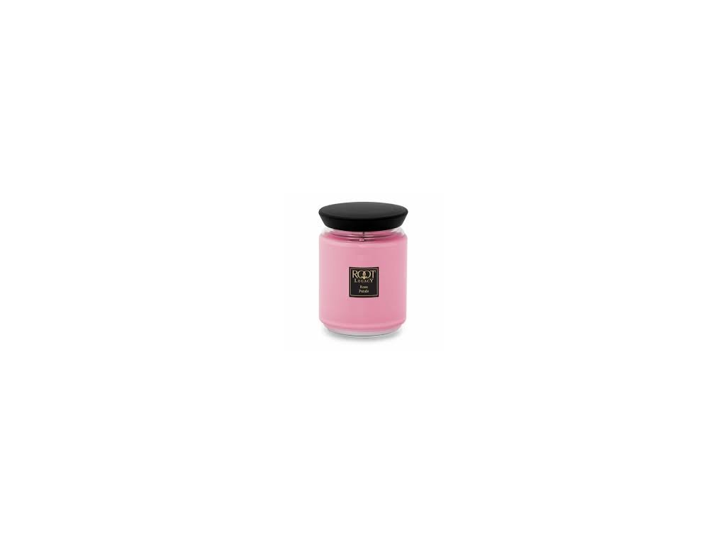 ROOT CANDLES Queen Bee Large Rose Petal