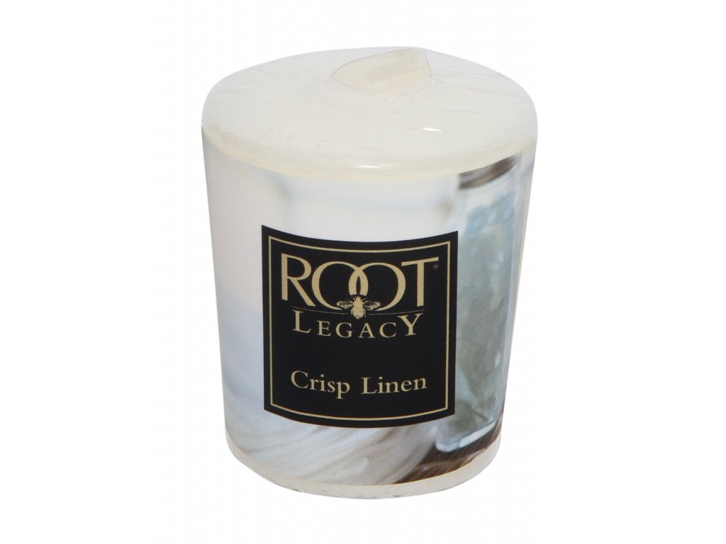 ROOT CANDLES Votivo Crisp Linen