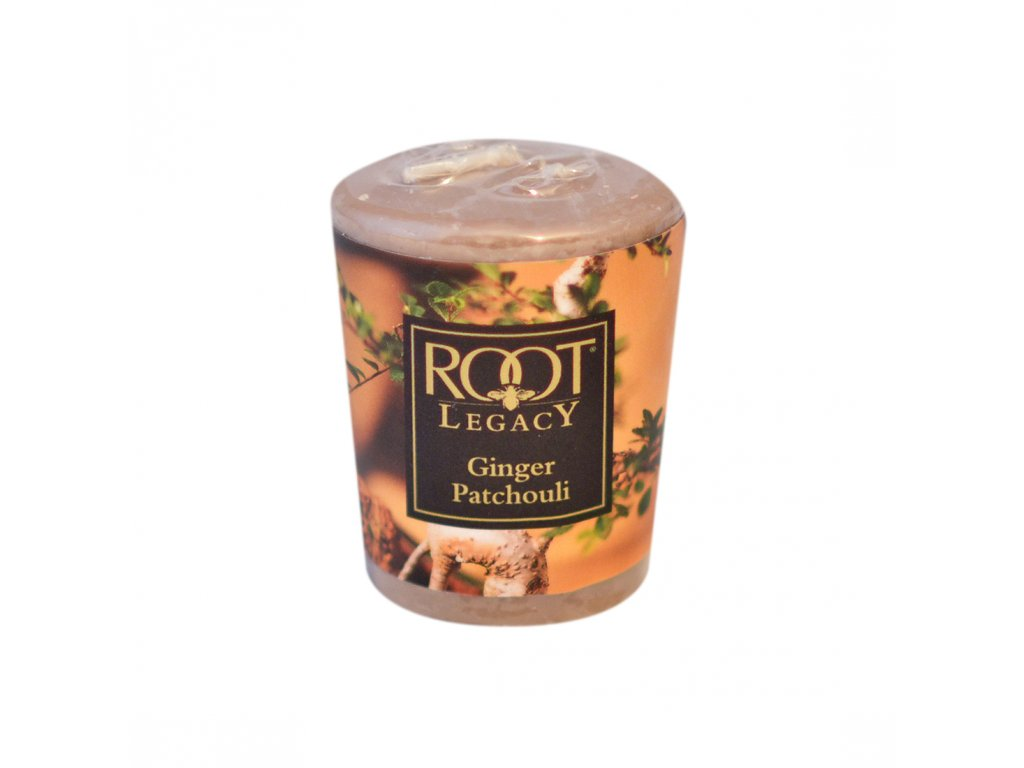 ROOT CANDLES Votivo Ginger Patchouli