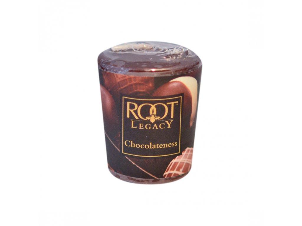 ROOT CANDLES Votivo Chocolateness