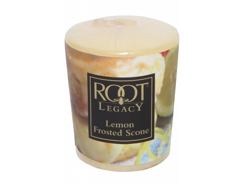 ROOT CANDLES Votivo Lemon Frosted Scone