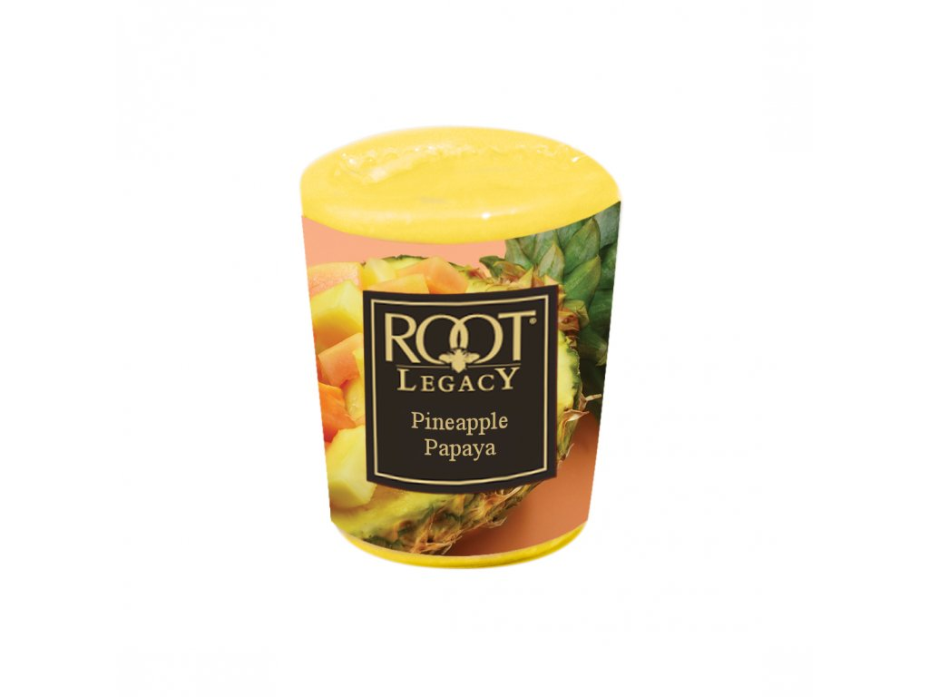 ROOT CANDLES Votivo Pineapple & Papaya