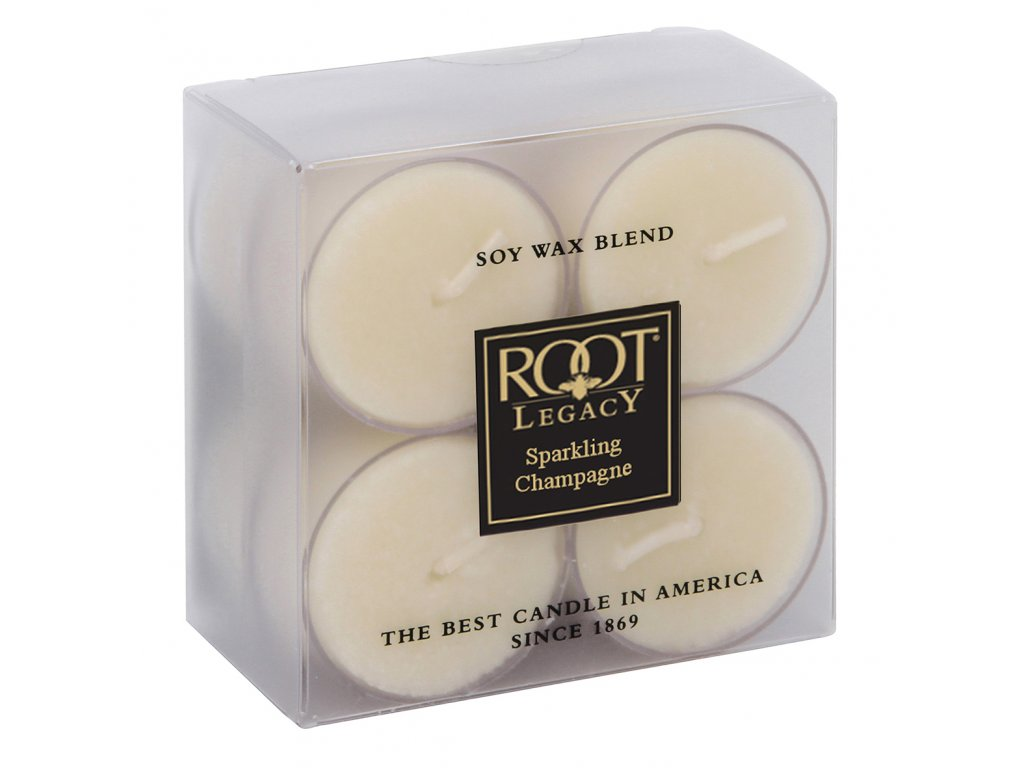 ROOT CANDLES Tea Lights Sparkling Champagne