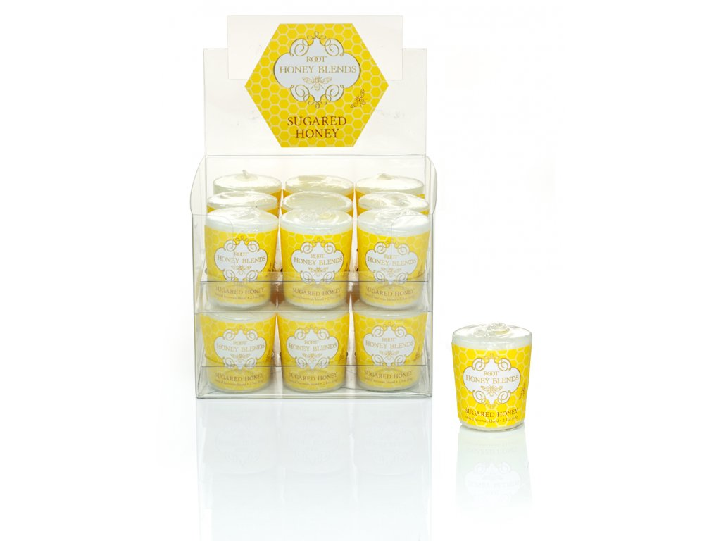 ROOT CANDLES Votivo Sugared Honey