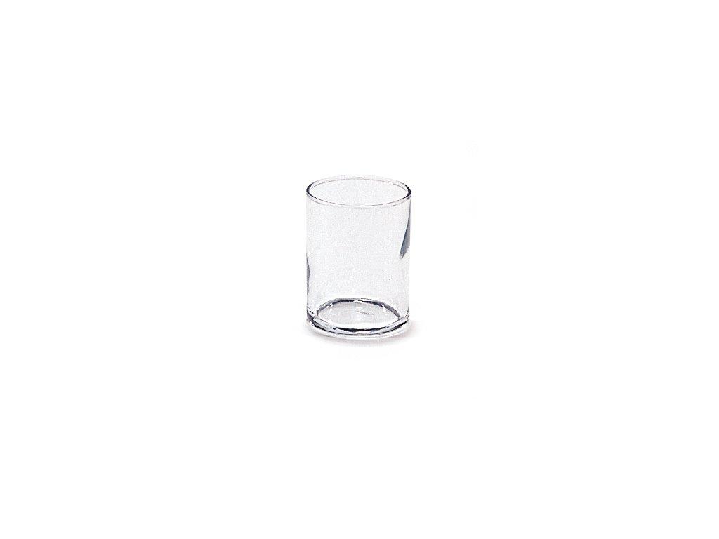 Sklenený pohár na votivo